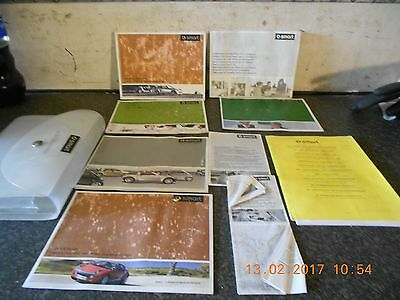 Smart Roadstar Owners Hand Books From A 2004 Model