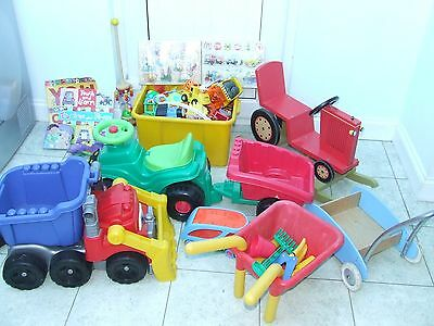Childens Toys, wooden, plastic,large collection, nursery, creche, child minder