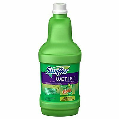 Swiffer WetJet Spray Mop Floor Cleaner Multi-Purpose Solution Gain Original S...