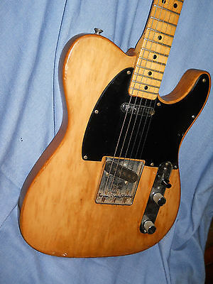 1970 Fender Telecaster electric guitar USA...stripped finish, great player!