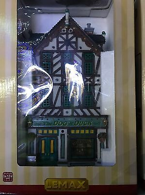The Dog & Duck Pub Lemax Christmas Village BRAND NEW