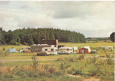 Postcard Scone Palace Caravan Park Perth And Kinross Scotland 1982-3