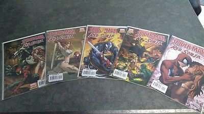 Spider-Man Red Sonja Limited Series Lot - All 5 of 5 - NM