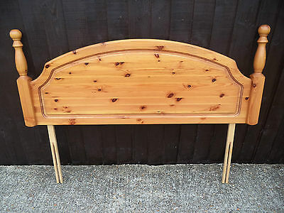 Solid Pine Headboard For King Size Double Divan Bed