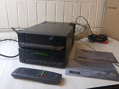 CYRUS DAD3 CD PLAYER + 3i Amplifier home/sound/audio/music/stereo/hifi + Remote