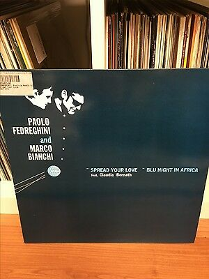 "Paolo Fedreghini & Marco Bianchi - Spread Your Love 12"" vinyl rare record Jazz"