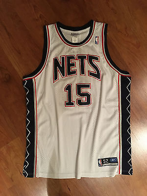 New Jersey Nets Vince CARTER NBA AUTHENTIC Basketball Trikot Bulls Jordan