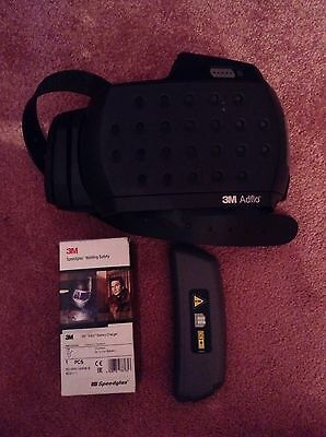 3m Adflo Powered Air Respirator. With Battery & Charger (see Description)