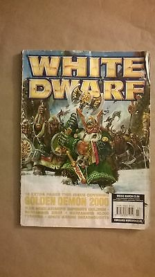 A paperback book of White Dwarf.WD255 MARCH.