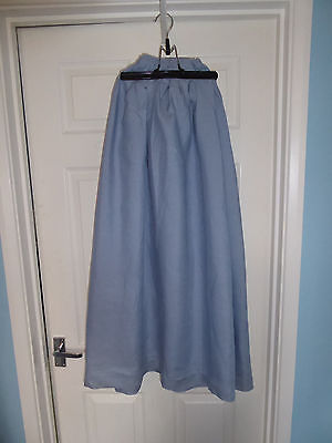 Blue lightweight skirt, suit ECW or sealed knot re-enactor, pirate LARP