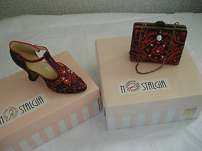 Vintage Nostalgia Pottery - Shoe And Handbag Collection