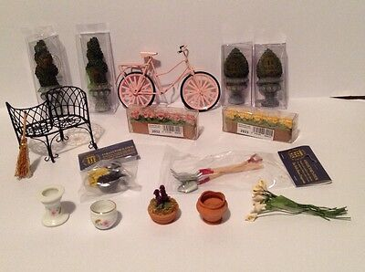 DHE Dolls House Emporium Garden Mixed Lot 12th scale