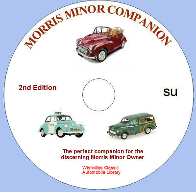 The Morris Minor Companion 2nd edition DVD rom