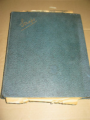 GIRL'S SCRAPBOOK 1950s COLLECTION LARGE 56 PAGES ASSORTED PHOTOS & PRINTS