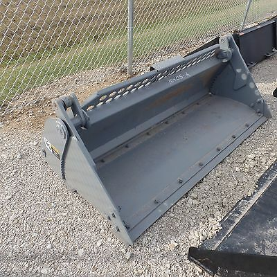 "73"" 4 in 1 Heavy Duty Bucket Skid Steer Attachment"