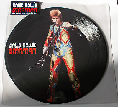 "David Bowie - Starman- 40th Anniversary 7"" Vinyl - Ltd Edition RSD 2012 *NEW*"