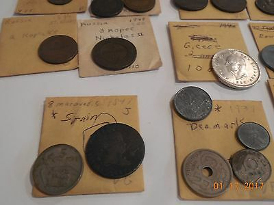 Lot of European minor coins