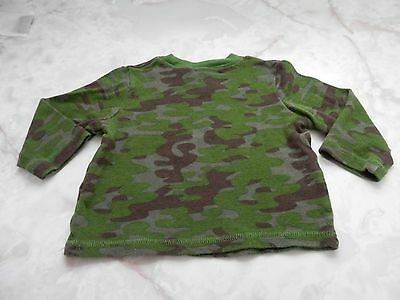 Baby Boy 18 Months Circo Green Camo Camouflage Long Sleeve Thermal Shirt