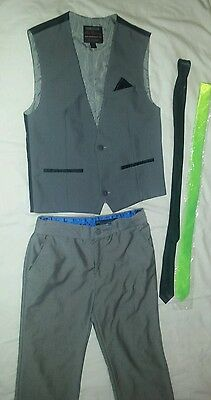 boys suit age 12/13 years. 5 pieces- inc pocket piece and 2 ties