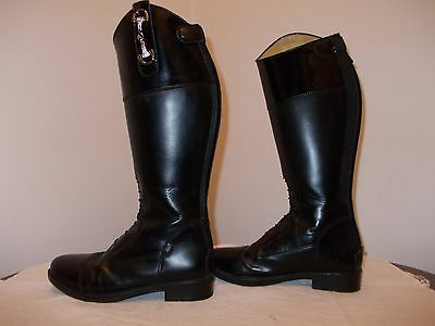 Child's Toggi leather riding boots size 3 1/2