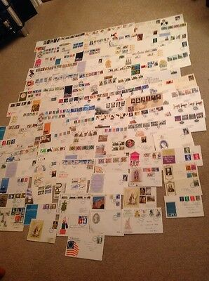 G.B. First Day Covers Approx  100 Maybe Slight Duplication (3)