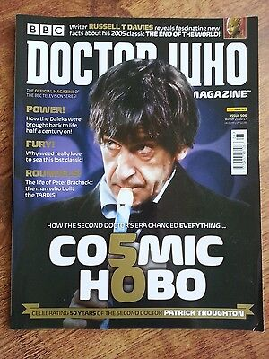 Doctor Who Magazine Dwm Issue 506 Cosmic Hobo 2Nd Dr Power Of The Daleks