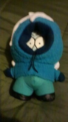 south park frozen kenny soft toy 7.5 inches tall very good condition