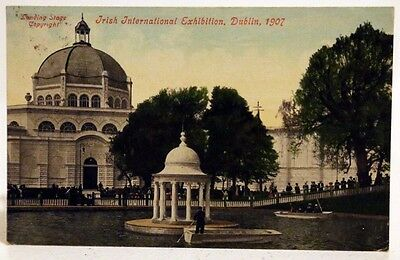 Vintage Postcard, Irish International Exhibition, Dublin - 1907 - J. Tallon