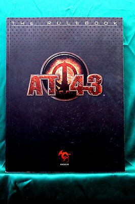 AT-43 ---  RULEBOOK --- Free Shipping