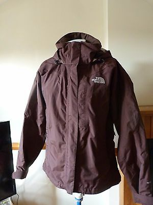 North Face Ladies Hyvent Waterproof/ ski? Jacket Size M 12-14 V Good condition