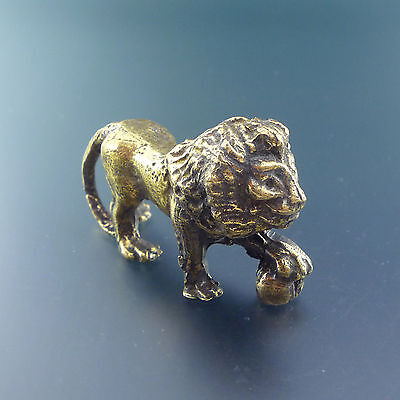 Lion Bronze Figurine High-quality Handmade Russian Federation