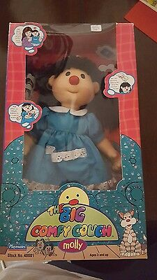 the big comfy couch molly doll 1996 playmates boxed
