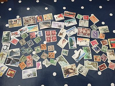 75 mint and used stamps from China all period lot incl early & modern