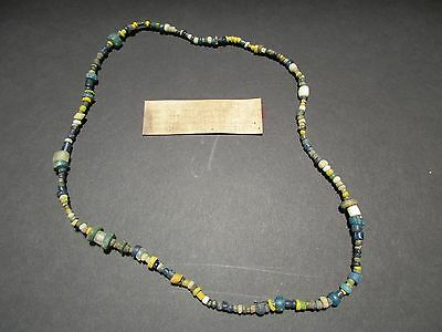 Eastern Tribal Trade Necklace, Tennessee Dig Site Artifact Discovery,  Du-00060