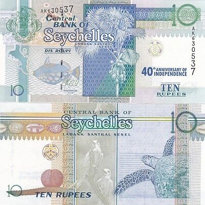 Seychelles - 10 Rupees 2013 UNC commemorative 40th Anniversary Lemberg-Zp