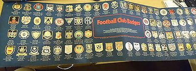 esso collection of football club badges