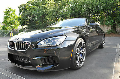 2015 BMW M6 4 door coupe 2015 BMW M6 GRAN COUPE ALMOST BRAND NEW INDIVIDUAL ORDER 103 MILES ONLY! R TITLE