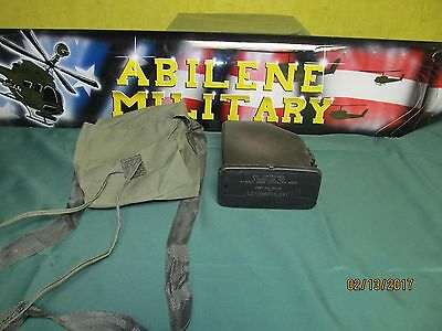 SAW M249 200 Round Ammo Pouch With Plastic Insert, Empty