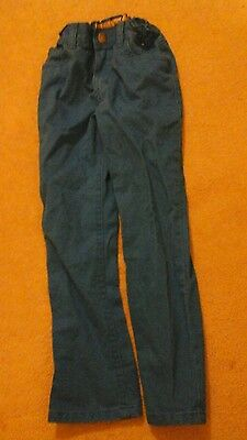 Blue chino trousers 6-7 years,