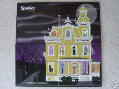 SPOOKS Haunted House Board Game Halloween