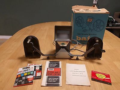 VTG Baia Reviewer MARK II 8mm Live Action Movie Editor with Box - FREE SHIP