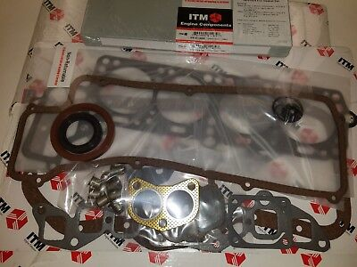 Toyota 8RC & 18RC 1969-1974 Complete Engine Gasket Set with all seals