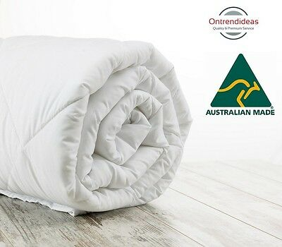 100% Merino Wool Quilt - Doona | AUS Made | 200GSM, 500GSM Or 700GSM | All Sizes