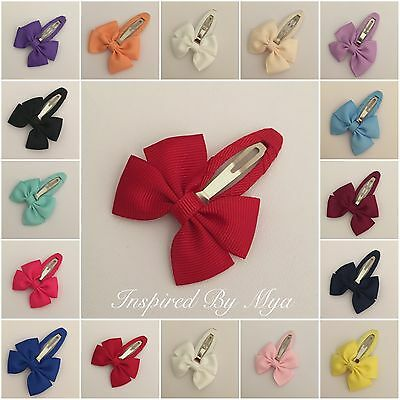Girls Baby Toddler Hair Clip Bow School Dance Party Hair Accessories