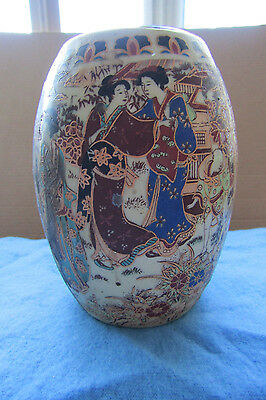 Chinese Handwork Procelain Hand Painted Lady Travelling Pot Beautiful New; Pr5
