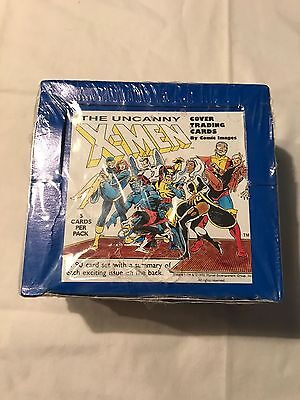 1990 Comic Images Uncanny X-Men Cover Trading Card Series 1 Factory Sealed Box