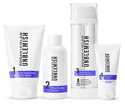 Rodan and Fields UNBLEMISH Regimen for Acne NEW & SEALED Retail $180