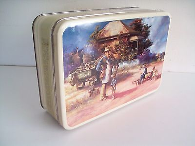 """Darcy Doyle Biscuit Tin - """"Bottle Merchant"""" Collectable 1990's"""