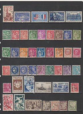 France Used Collection of Pre War Issues