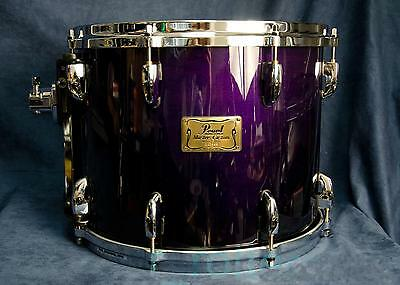 "Pearl Masters Custom MMX 14""x11"" suspended tom Midnight Fade"
